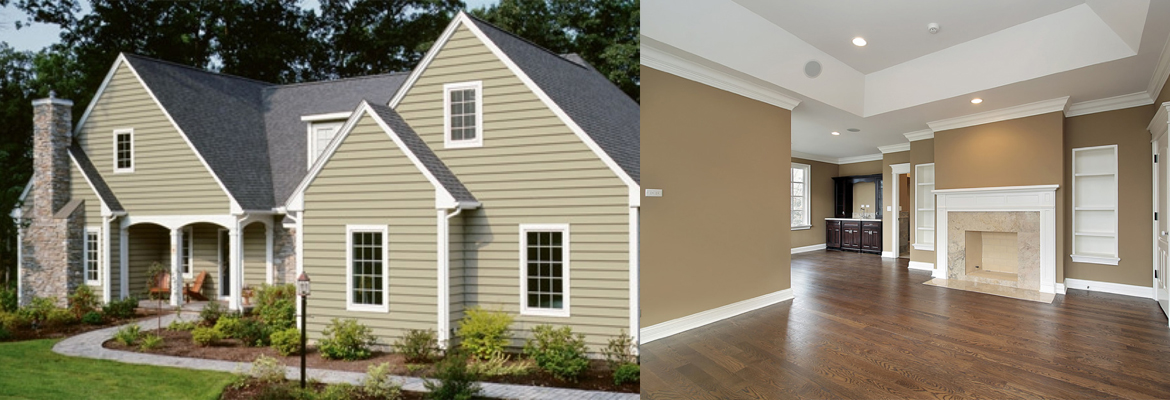 Our dad can fix it handyman services - Interior exterior painting services set ...